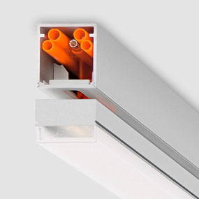 Luxsystem LED luminaire with connector for easy installation SL 20.2