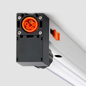Luxsystem LED luminaire with connector for easy installation SL 67.2