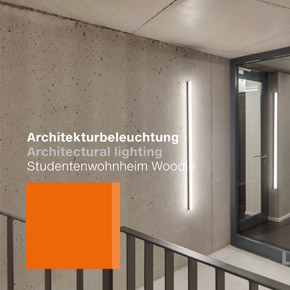 Luxsystem Architectural lighting Studentenwohnheim Woodie Teaser