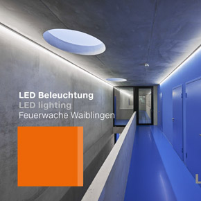 Luxsystem LED lighting Feuerwache Waiblingen Teaser