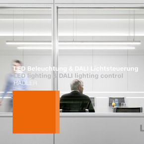 Luxsystem LED lighting and DALI lighting control HADLER Teaser