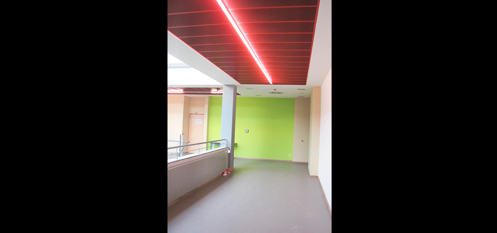 Luxsystem school luminaires corridor lighting light line