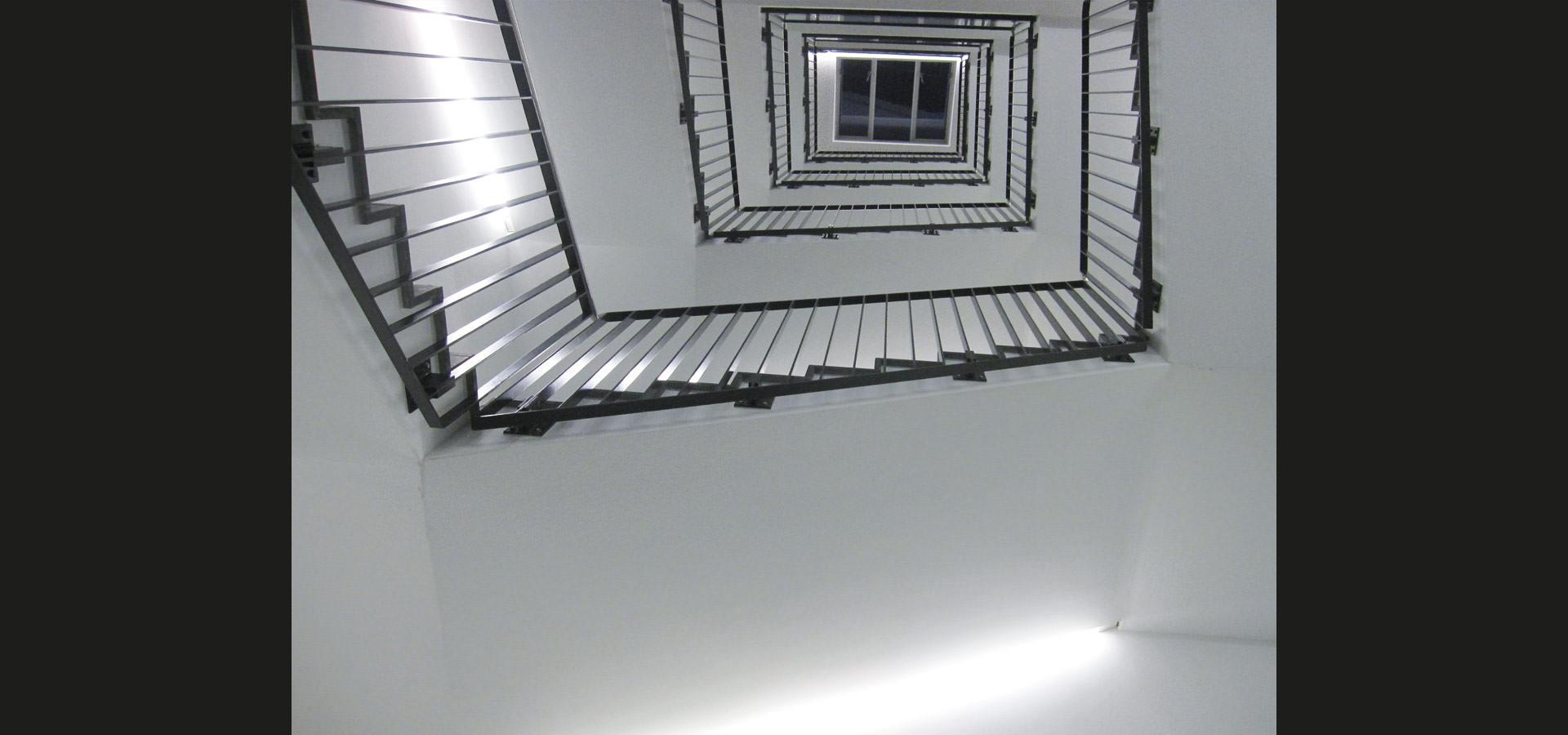 Lichtleiste für Treppenhaus Beleuchtung von Luxsystem ✓