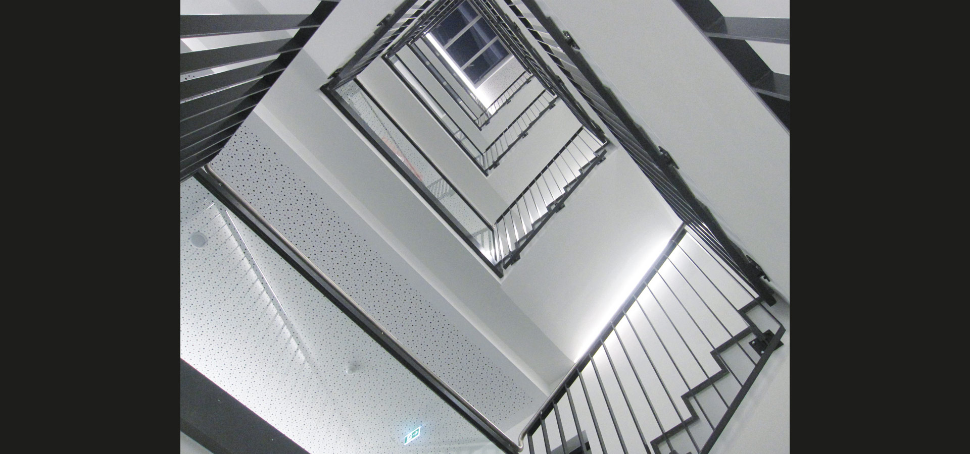 Luxsystem staircase lighting for hospitals light strip 20.2