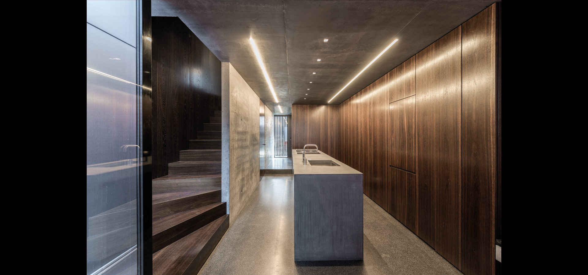 Led Linienle slim linear light lines at a home at luxsystem de