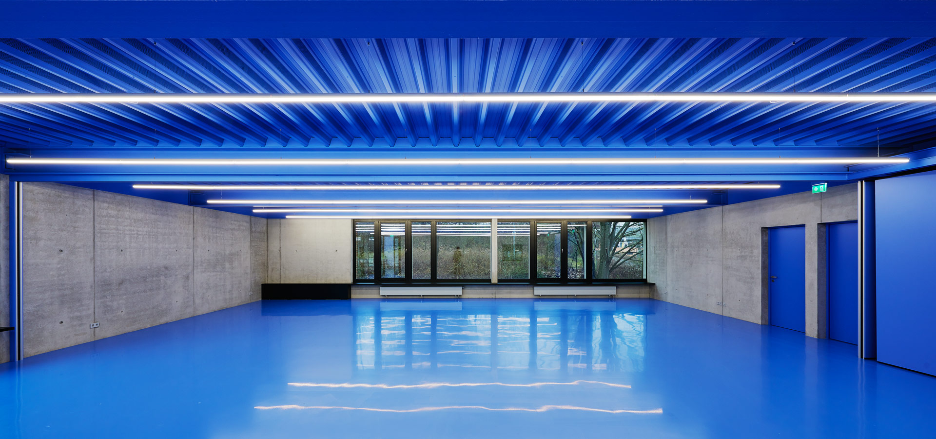 Luxsystem architectural lighting for fire station indoor led luminaire 20.3