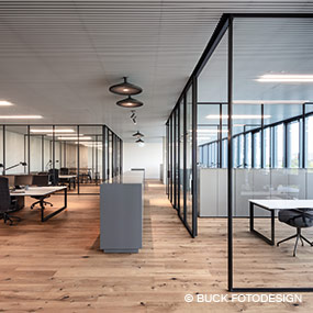 Office lighting Munich plan office Party Rent to Luxsystem