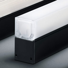 Luxsystem LED Luminaires Diffuser opalised